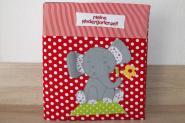 Ordnerhülle Portfolio Elefant